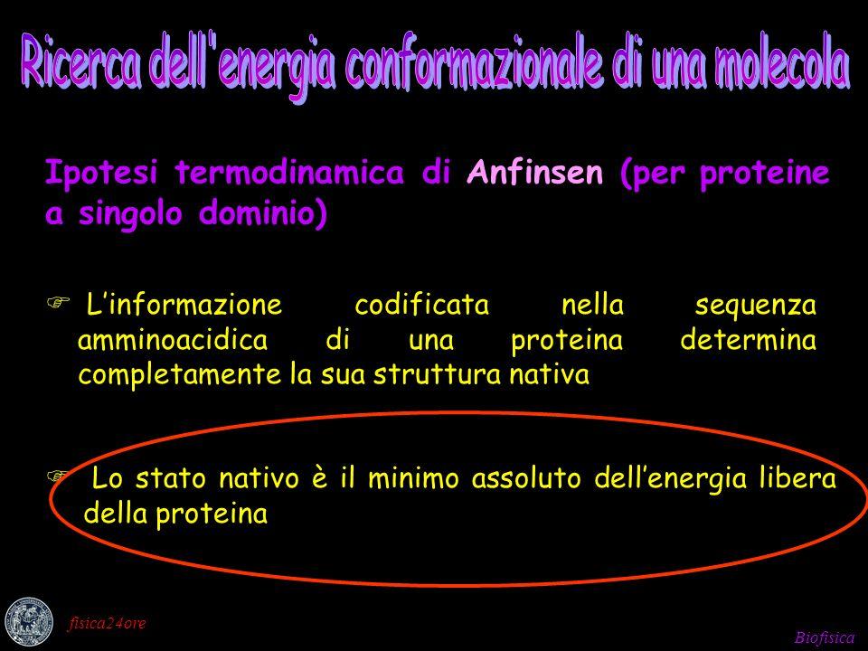 Ricerca dell'energia conformazionale
