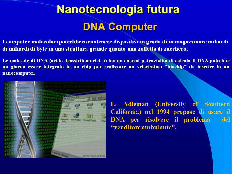 Nanotecnologia futura DNA Computer