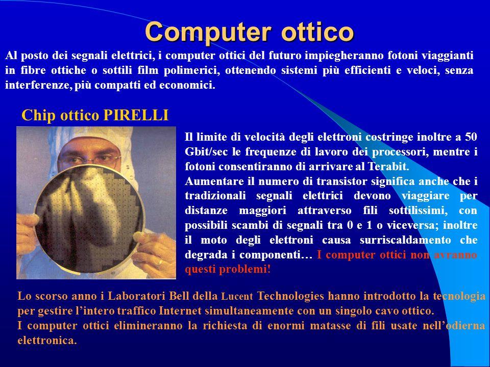 Computer ottico Chip ottico PIRELLI