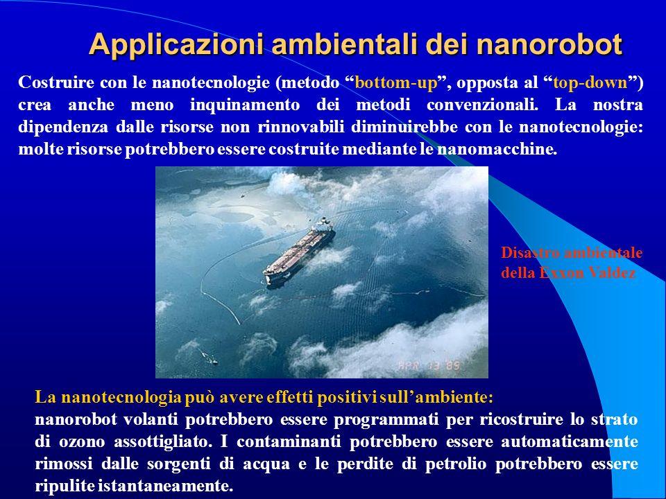 Applicazioni ambientali dei nanorobot