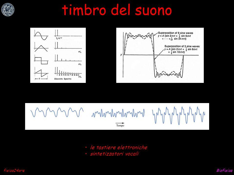 timbro del suono le tastiere elettroniche sintetizzatori vocali