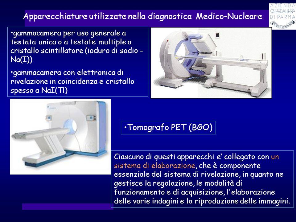 Apparecchiature utilizzate nella diagnostica Medico-Nucleare