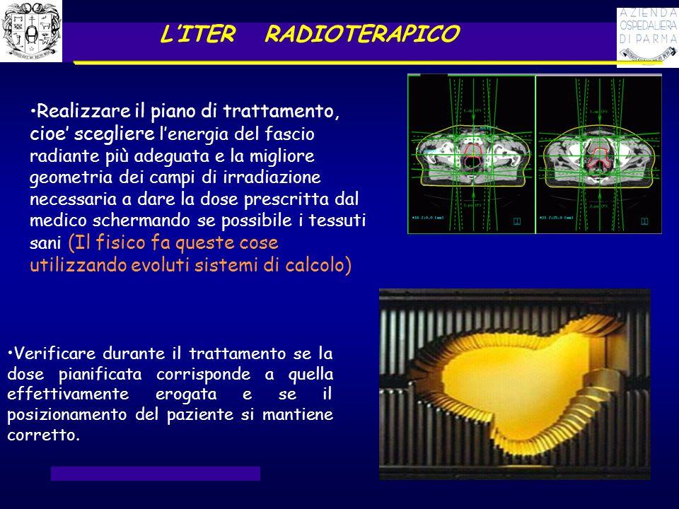L'ITER RADIOTERAPICO