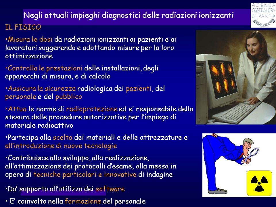 Negli attuali impieghi diagnostici delle radiazioni ionizzanti