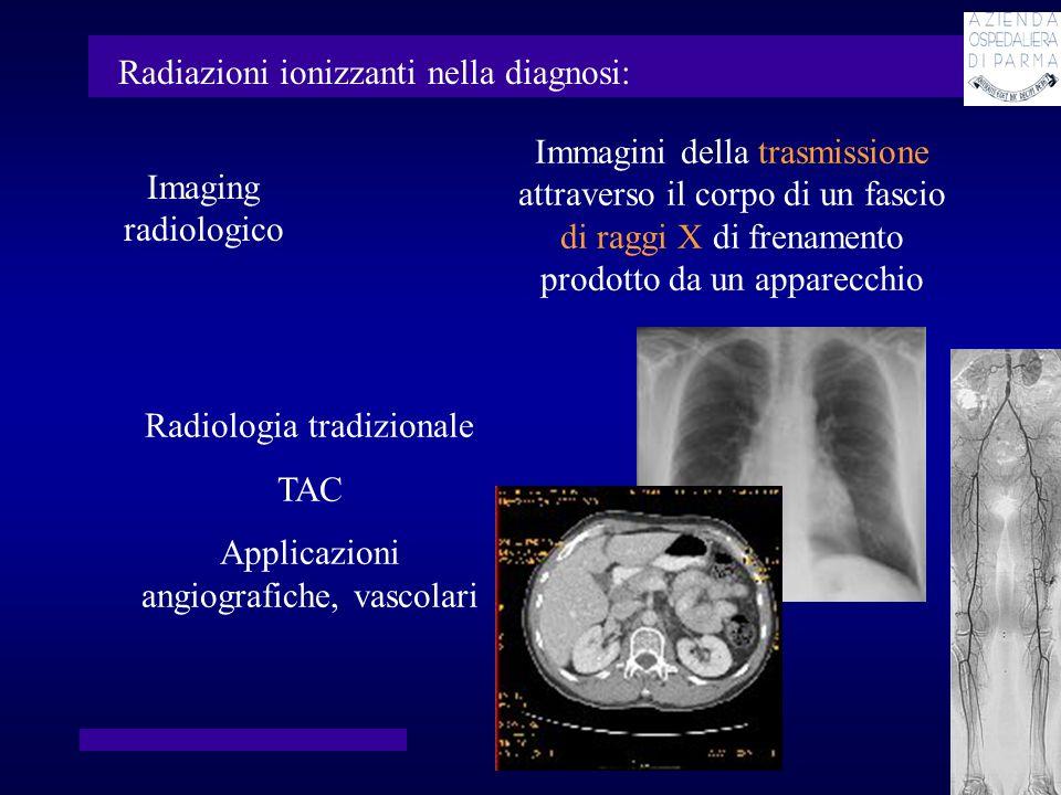 Radiazioni ionizzanti nella diagnosi: