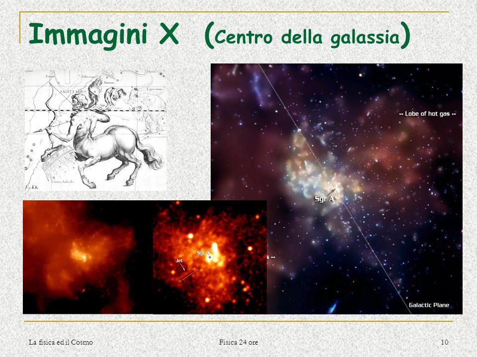 Immagini X (Centro della galassia)