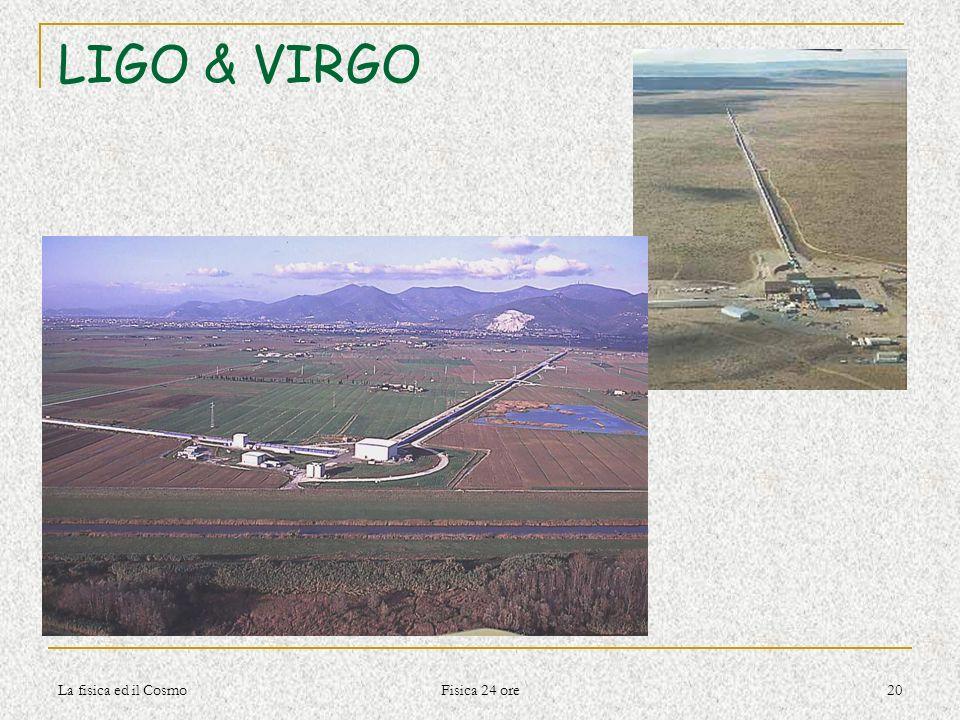 LIGO & VIRGO La fisica ed il Cosmo Fisica 24 ore