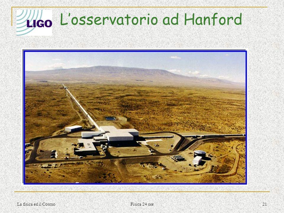 L'osservatorio ad Hanford