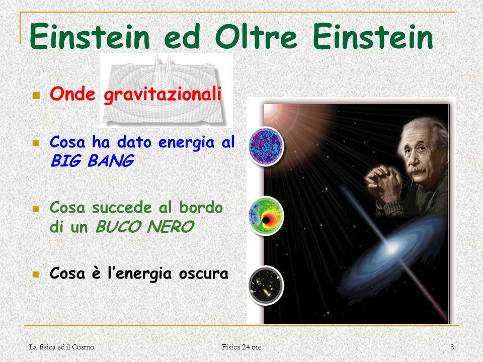 Einstein ed Oltre Einstein