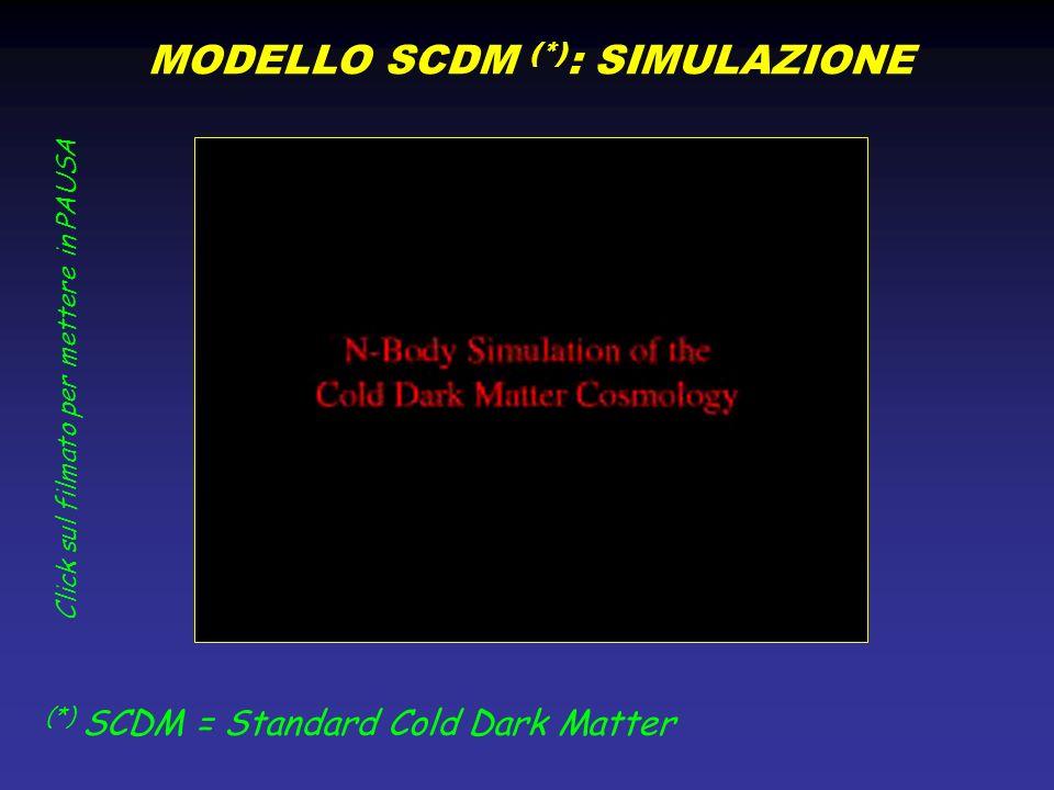 MODELLO SCDM (*): SIMULAZIONE