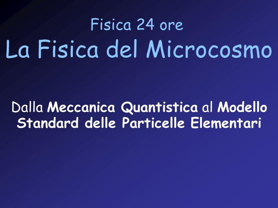La Fisica del Microcosmo