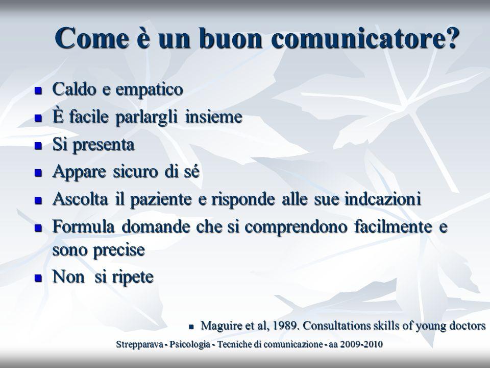 Come è un buon comunicatore