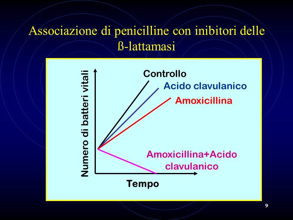 Associazione di penicilline con inibitori delle ß-lattamasi