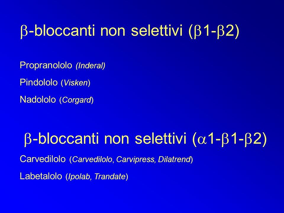 b-bloccanti non selettivi (a1-b1-b2)