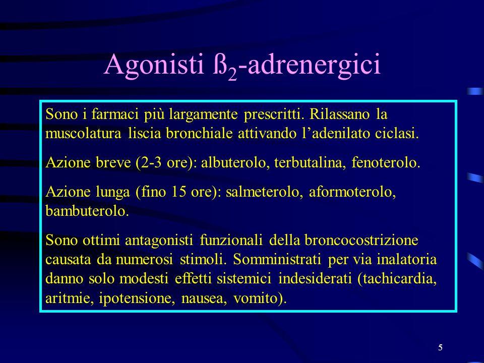Agonisti ß2-adrenergici