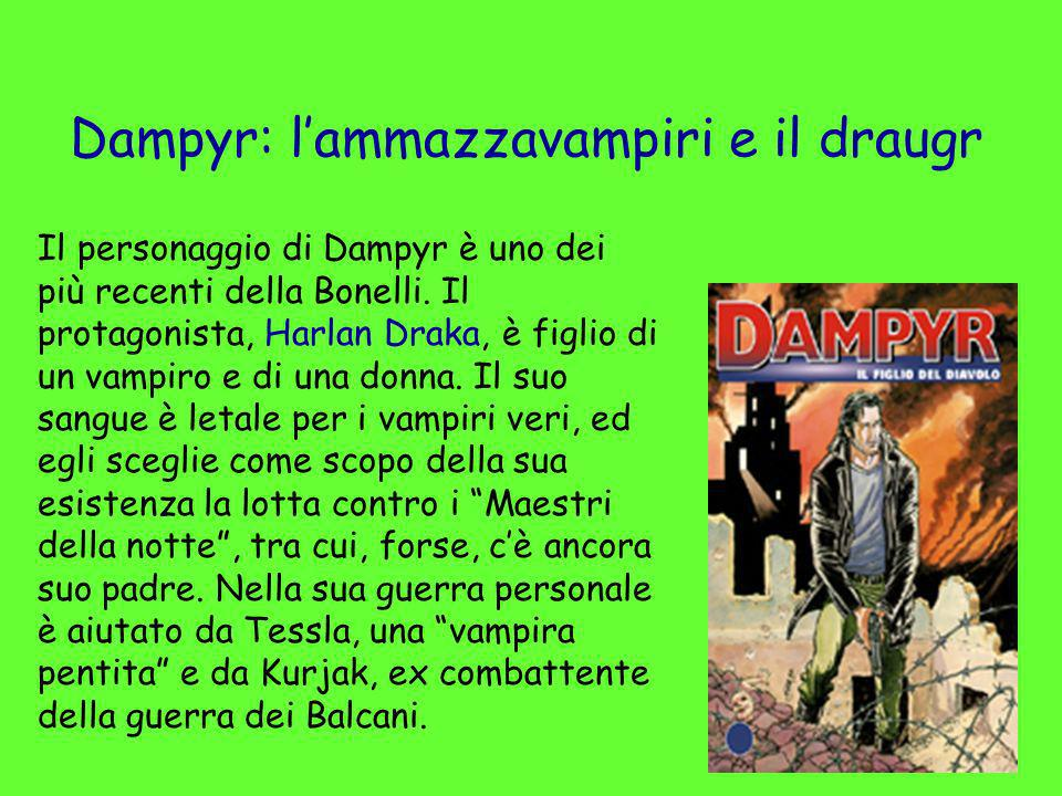 Dampyr: l'ammazzavampiri e il draugr