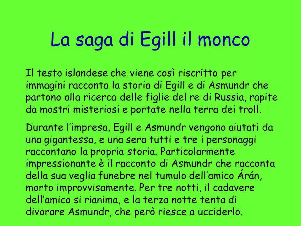 La saga di Egill il monco