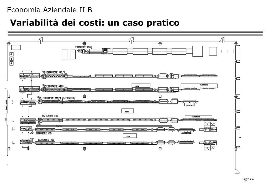 Variabilità dei costi: un caso pratico