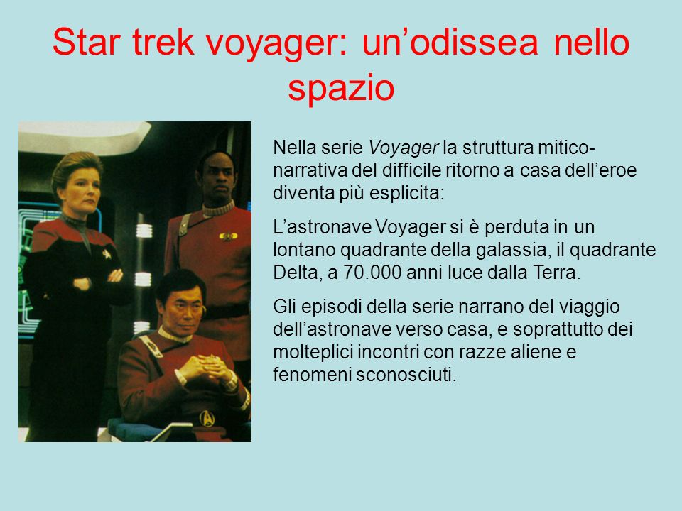 Star trek voyager: un'odissea nello spazio