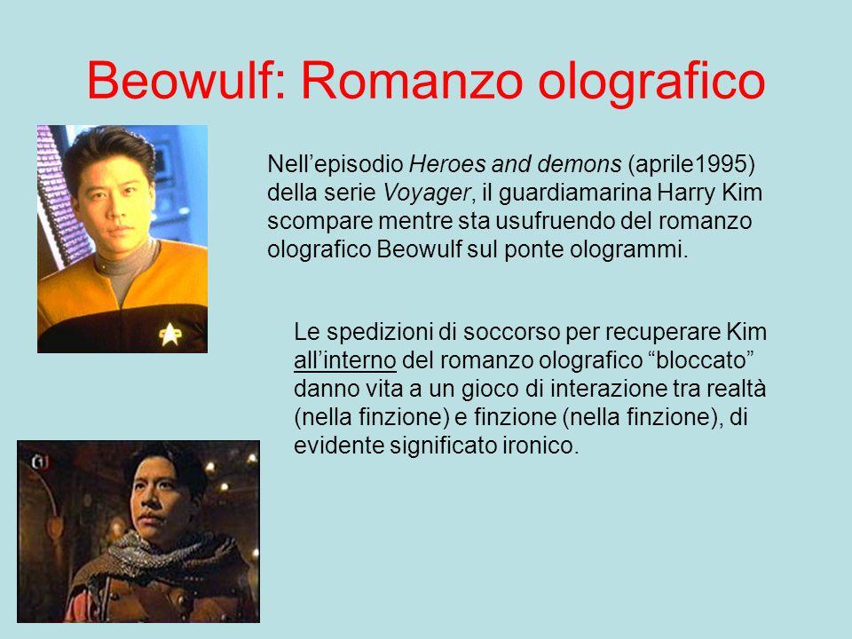 Beowulf: Romanzo olografico