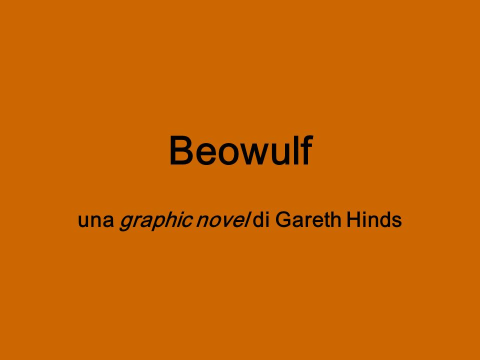 una graphic novel di Gareth Hinds