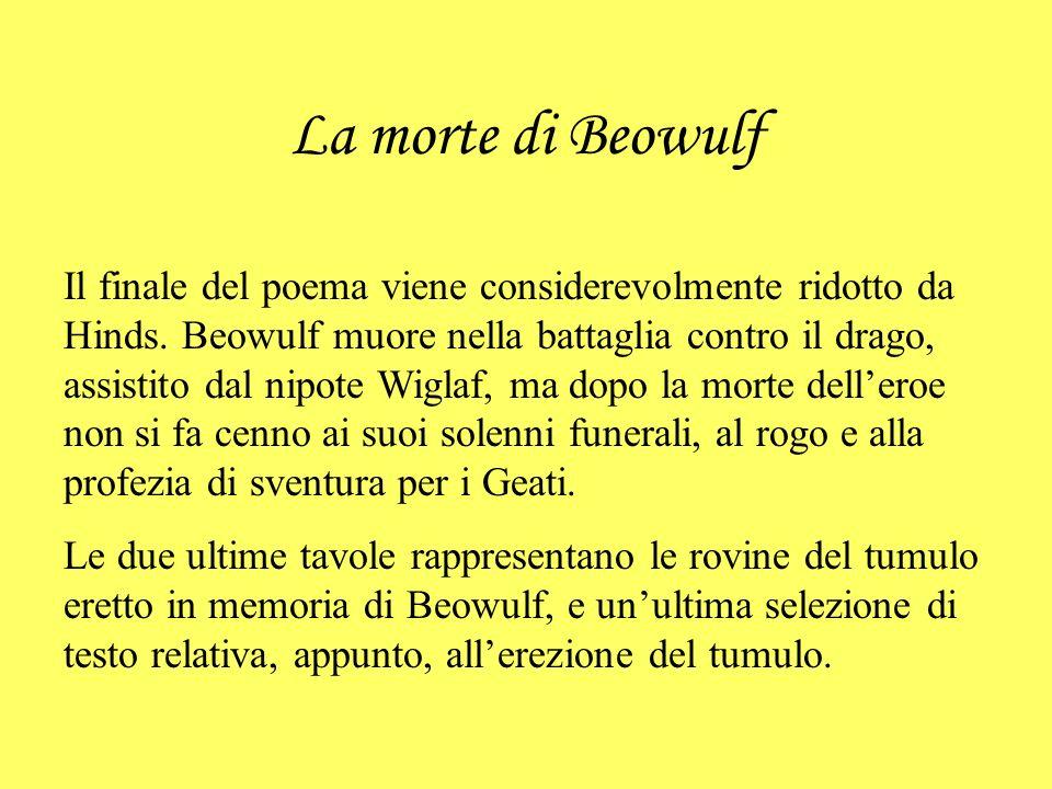 La morte di Beowulf
