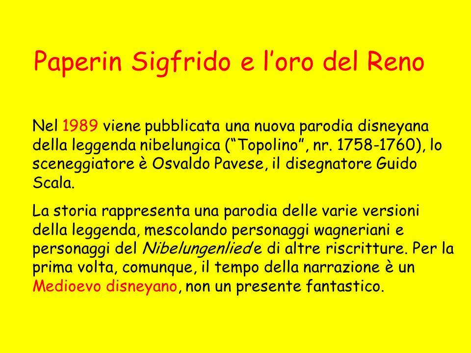Paperin Sigfrido e l'oro del Reno