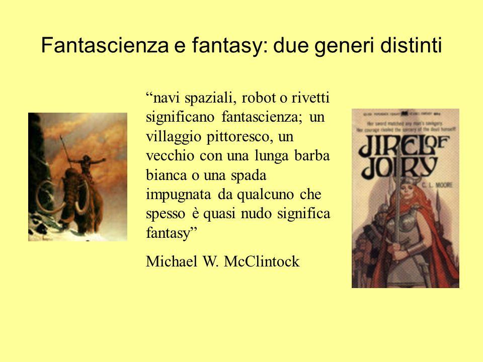 Fantascienza e fantasy: due generi distinti