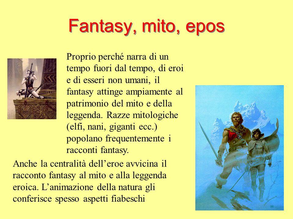 Fantasy, mito, epos