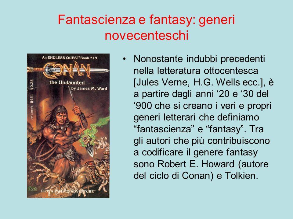 Fantascienza e fantasy: generi novecenteschi