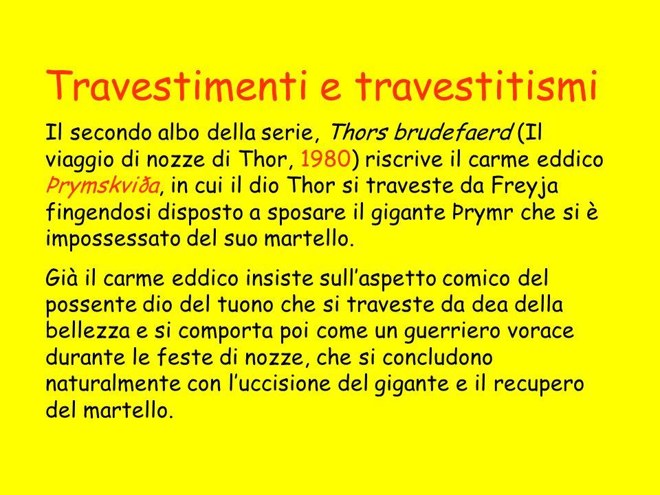 Travestimenti e travestitismi