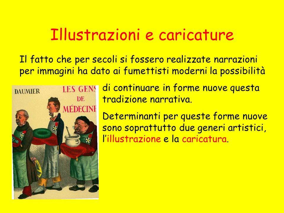 Illustrazioni e caricature