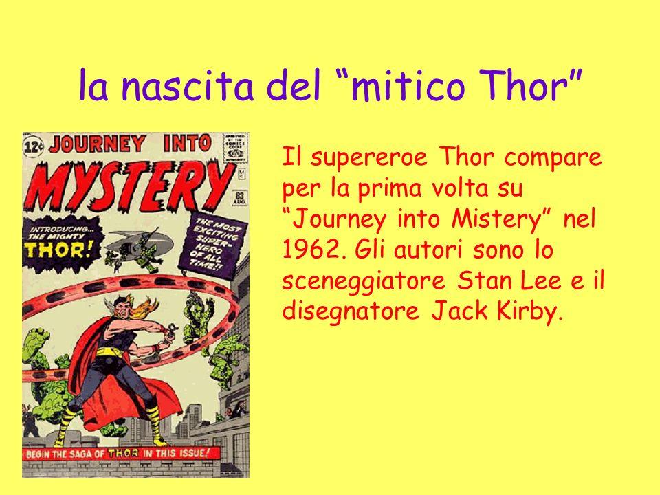 la nascita del mitico Thor