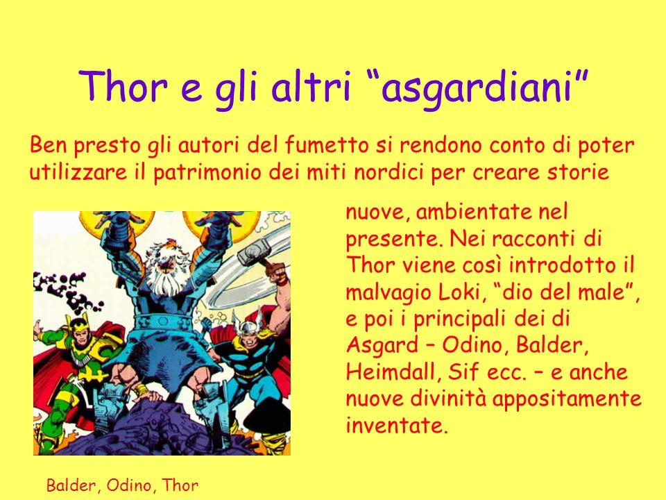 Thor e gli altri asgardiani