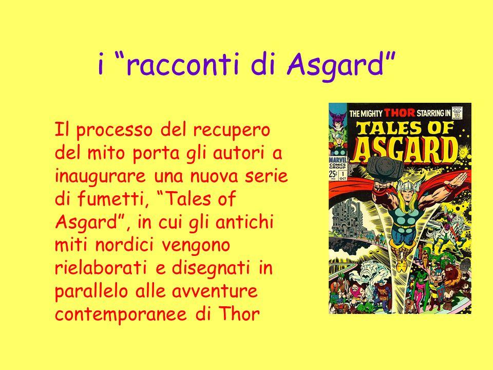 i racconti di Asgard