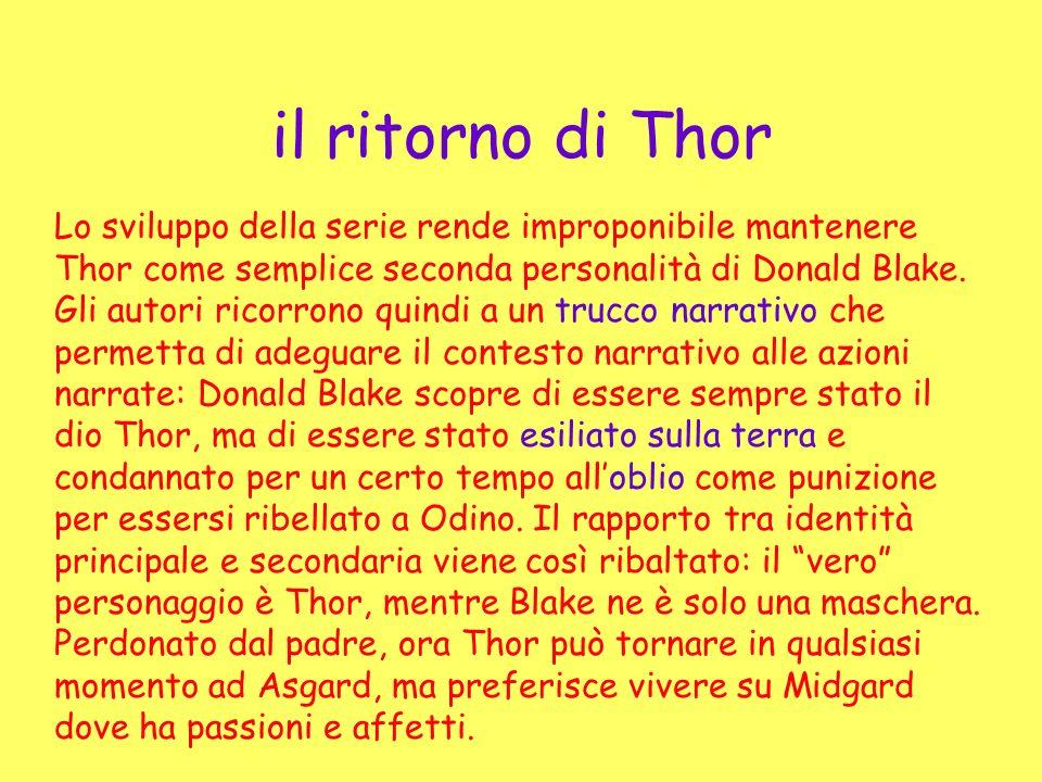 il ritorno di Thor