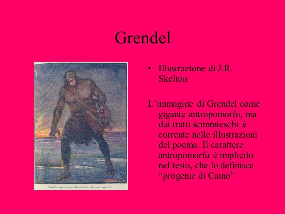 Grendel Illustrazione di J.R. Skelton