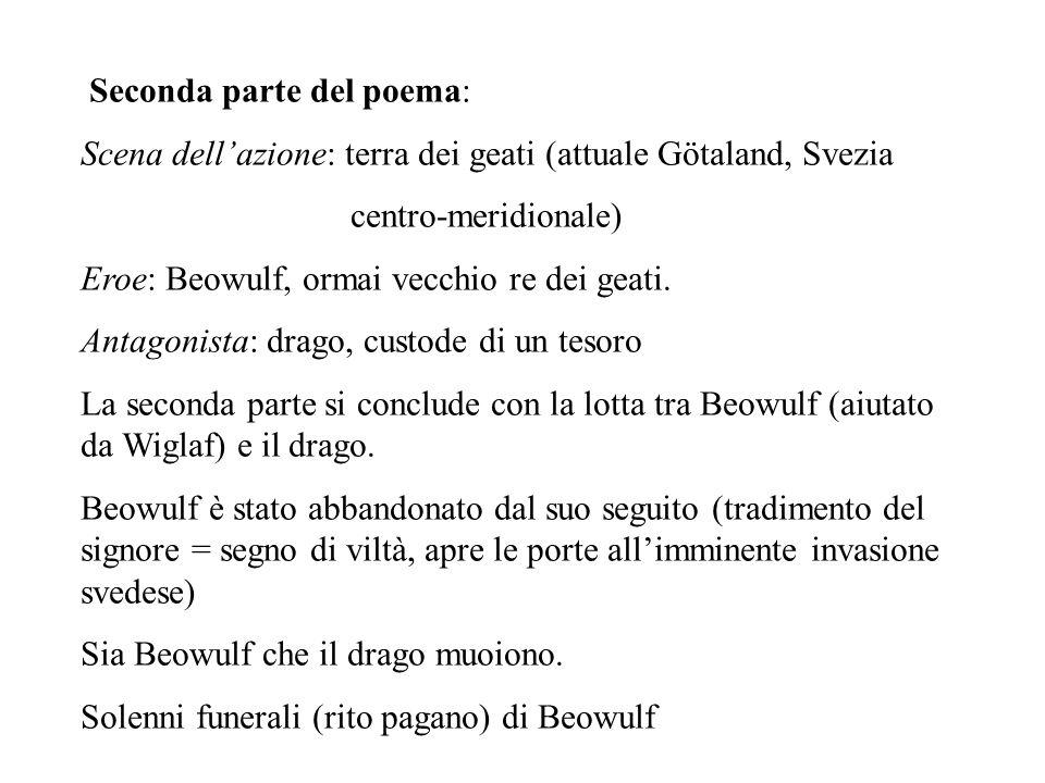 Seconda parte del poema: