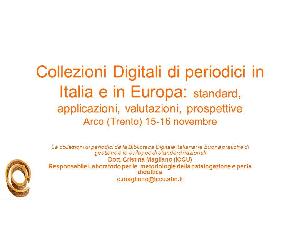Dott. Cristina Magliano (ICCU)
