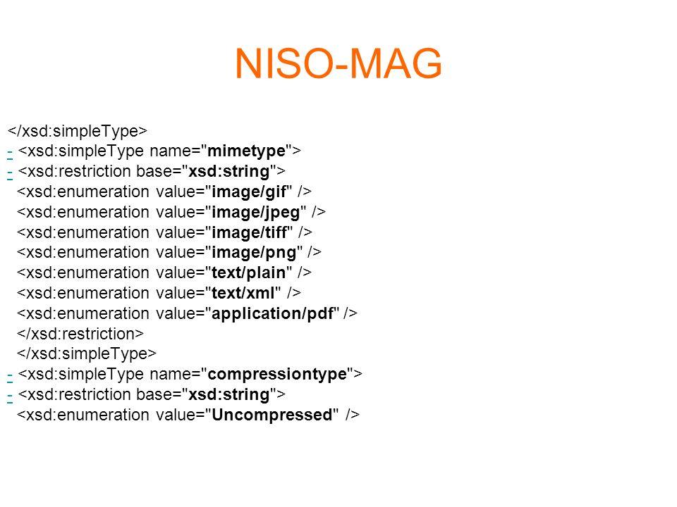 NISO-MAG </xsd:simpleType>