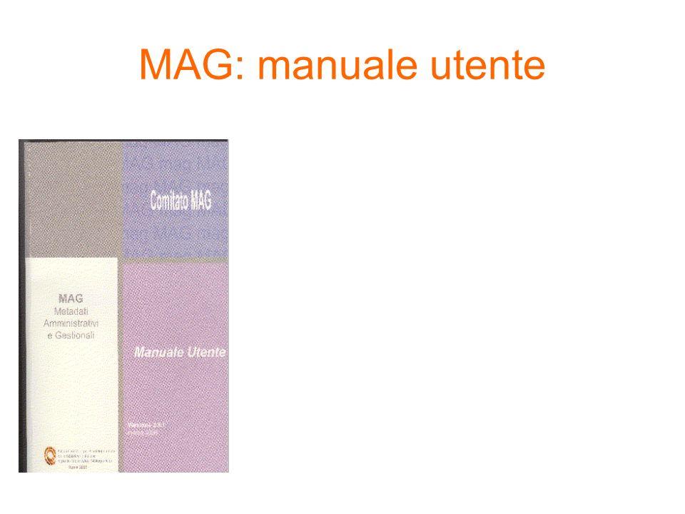 MAG: manuale utente