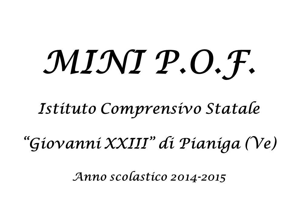 Istituto Comprensivo Statale Giovanni XXIII di Pianiga (Ve)