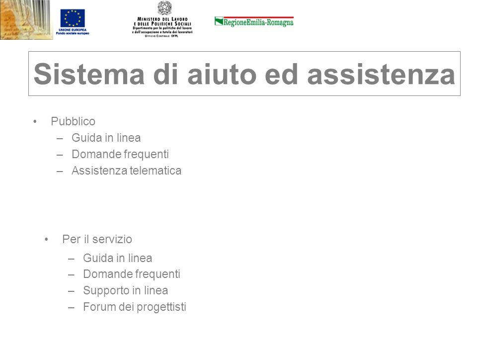 Sistema di aiuto ed assistenza