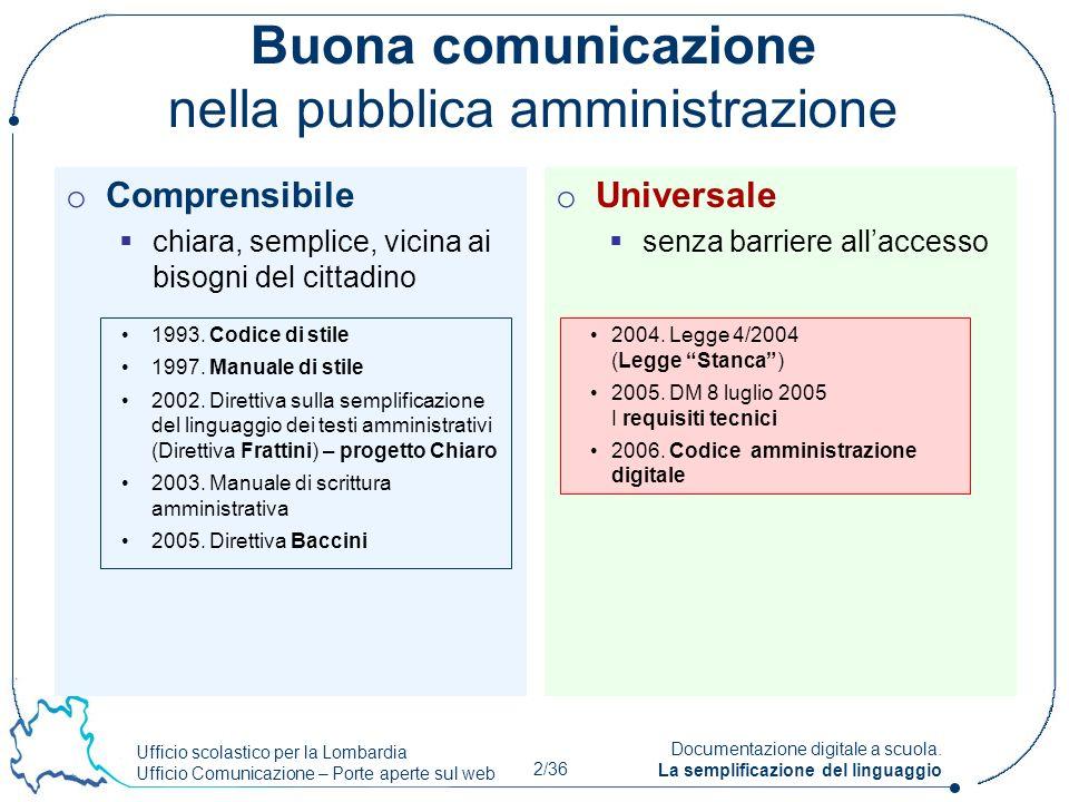 Buona comunicazione nella pubblica amministrazione