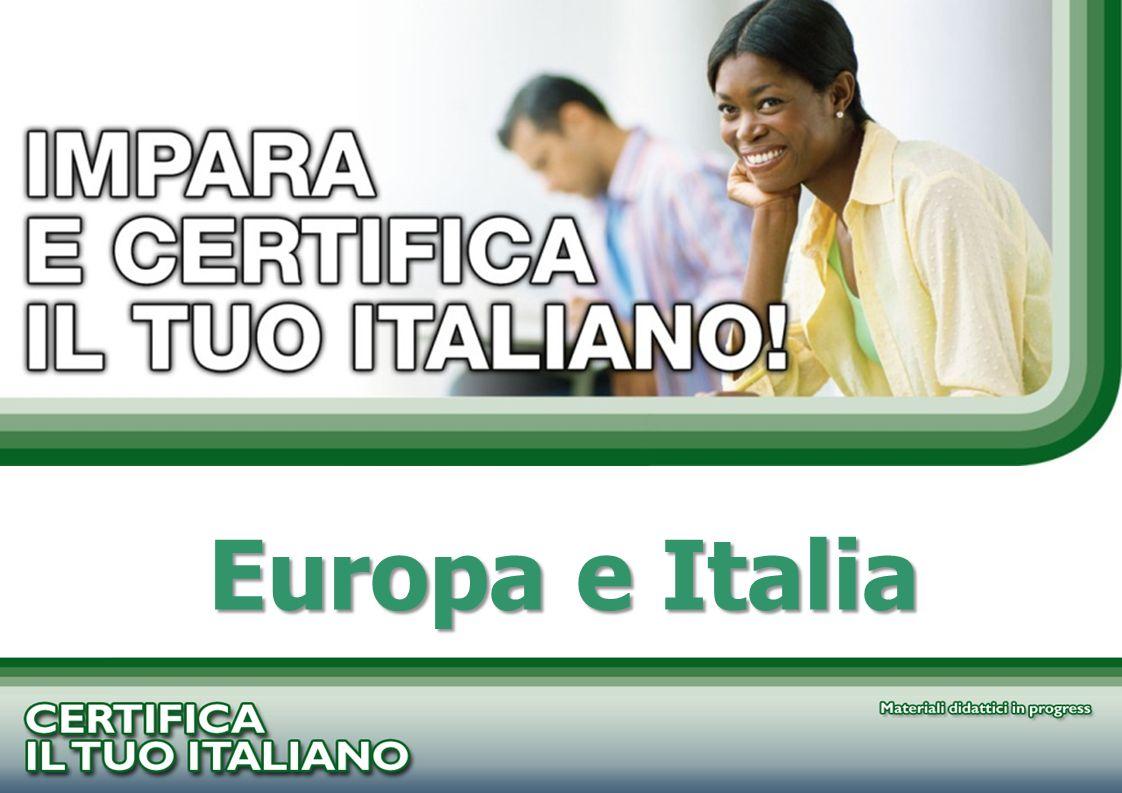 PROGETTO CERTIFICA IL TUO ITALIANO