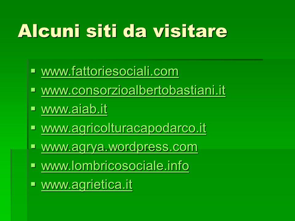Alcuni siti da visitare