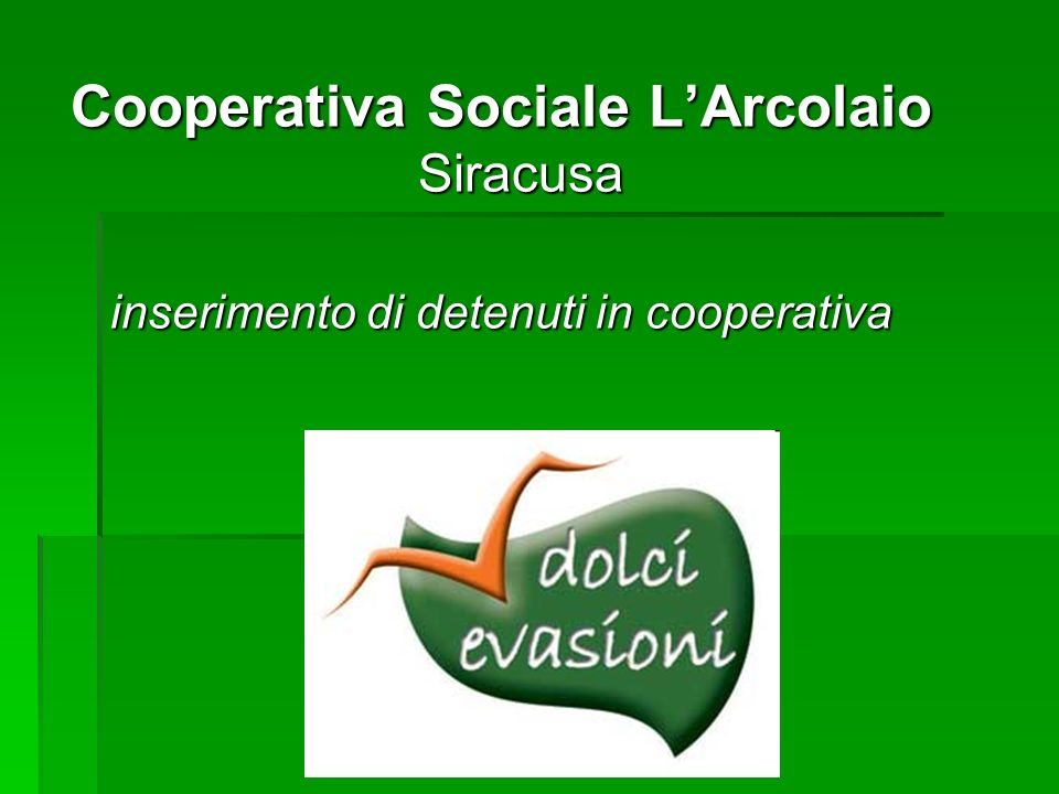 Cooperativa Sociale L'Arcolaio Siracusa