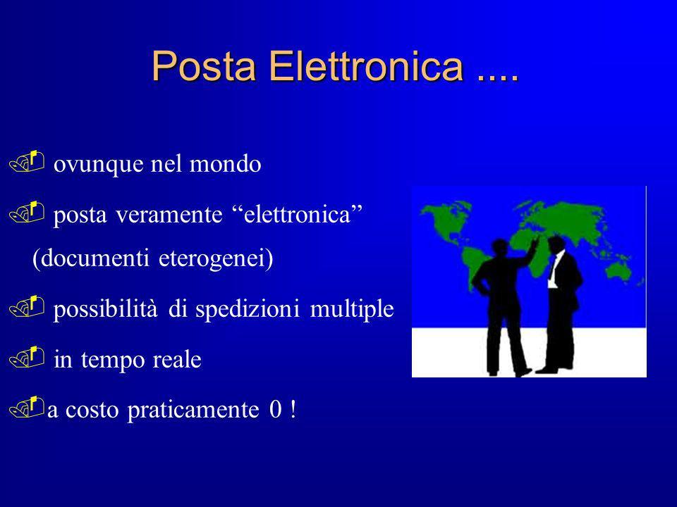 Posta Elettronica .... ovunque nel mondo