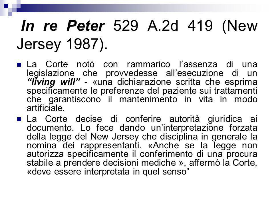 In re Peter 529 A.2d 419 (New Jersey 1987).