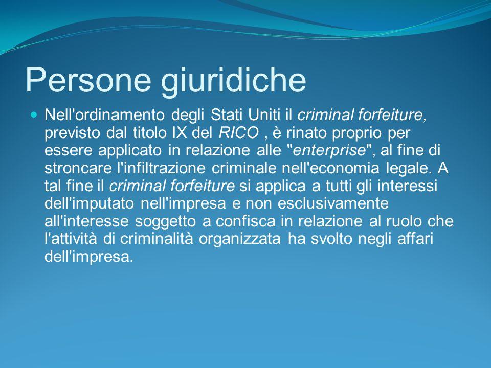 Persone giuridiche